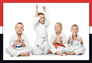 Kleinkinder Kampfsport